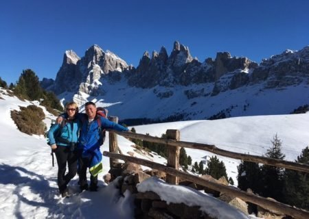 Impressions of the Funes winter