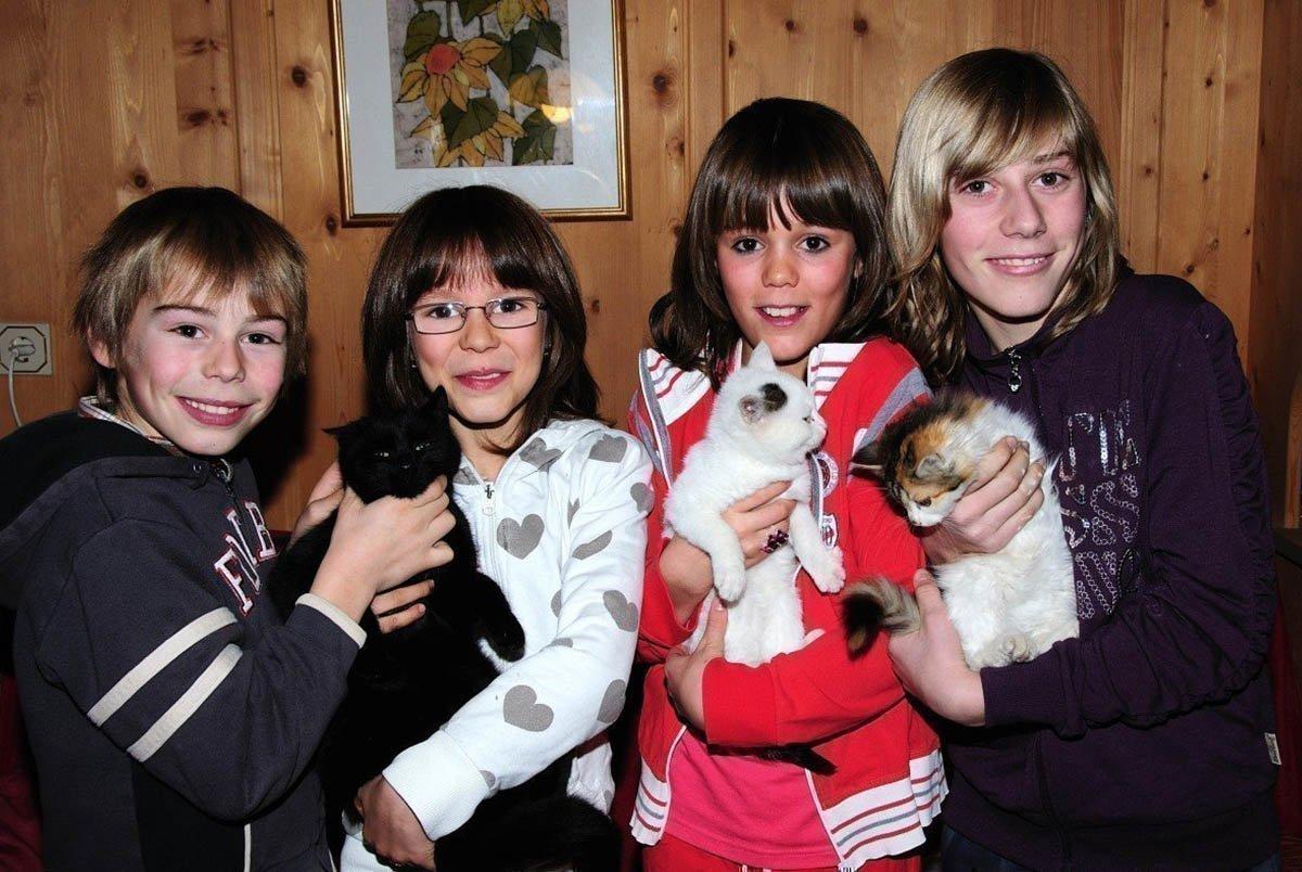 Vacanze in agriturismo con bambini sul maso Pineiderhof a Funes