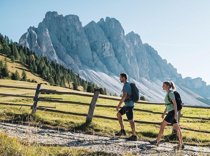 Freizeitvergnügen – Urlaub in Villnöss