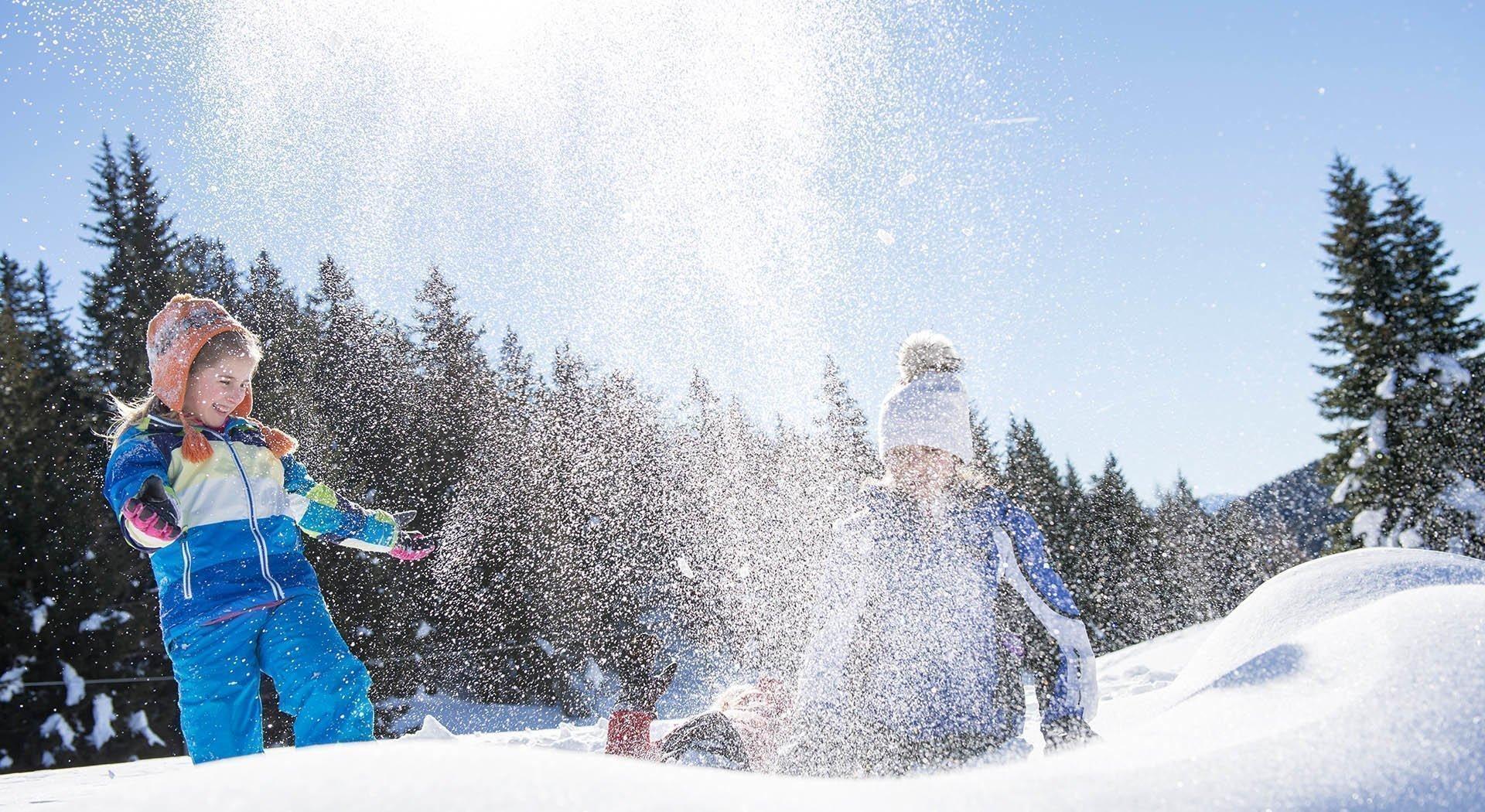 Winter Ski in den Dolomiten